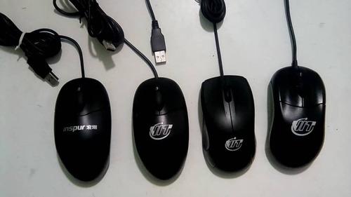 mouse optico alambrico usb negro sin caja
