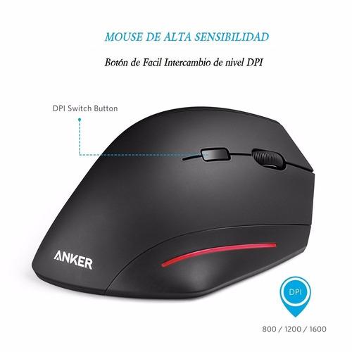 mouse óptico anker®