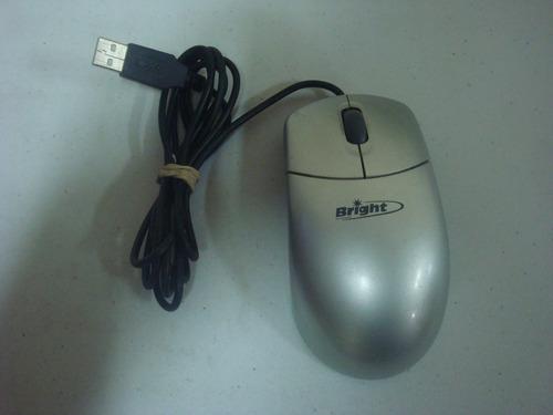 mouse óptico bright - usb