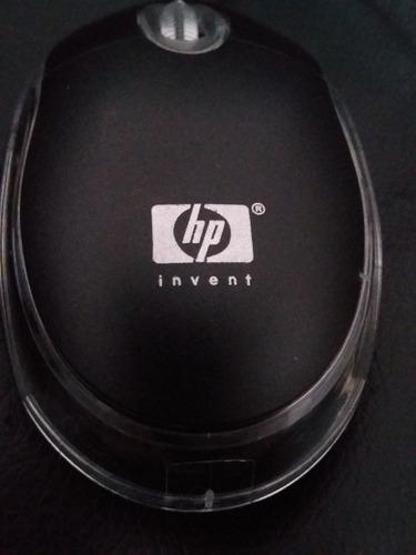 mouse optico hp usb. somos tienda fisica