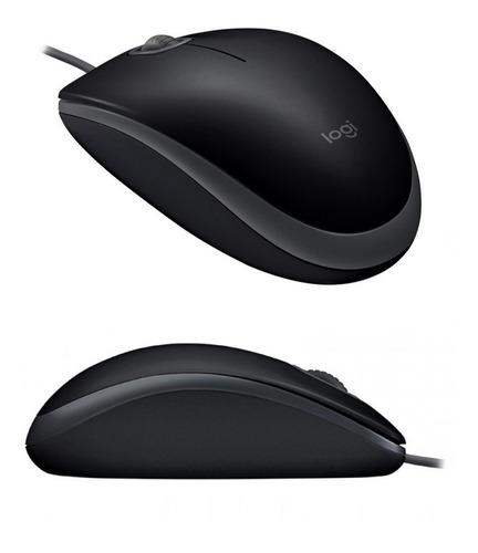 mouse optico logitech m110 silencioso usb win mac colores pc