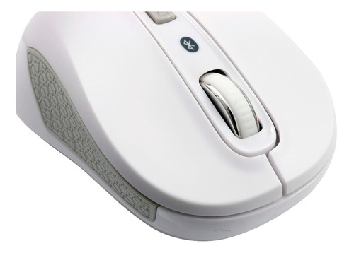 mouse óptico motion bluetooth 3.0 ms406 branco 1600 dpi oex