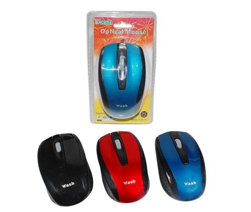 mouse optico ps/2 wash 1000 dpi economico