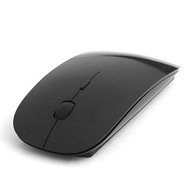 Mouse Optico Slim Inalambrico Para Pc Tipo Mac Ultradelgado