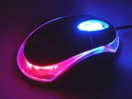 mouse optico usb 800 dpi diseño 3d led multicolor pc lap top