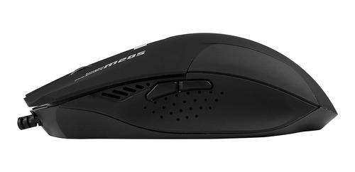 mouse optico usb marvo scorpion m205 ergonomico gamer color