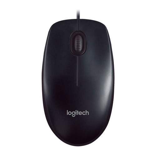 mouse optico usb preto logitech m90 - pn 910-004053