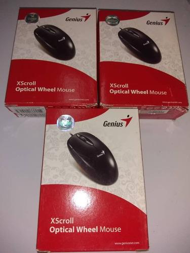 mouse optico xscroll ps2 genius