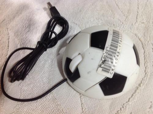 mouse ótico bola de futebol