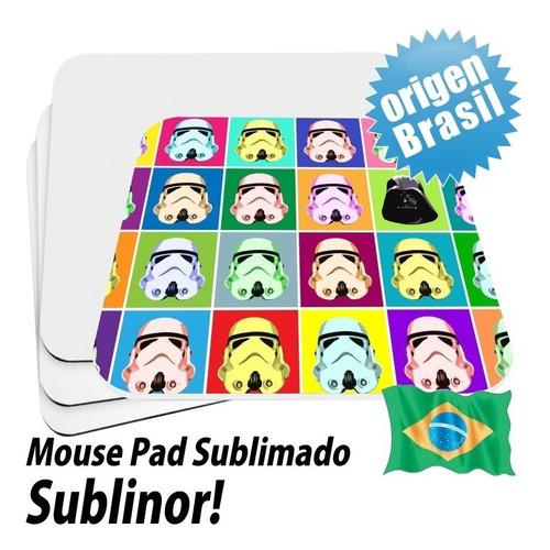 mouse pad 14x14 cm publicitarios personalizados, slim