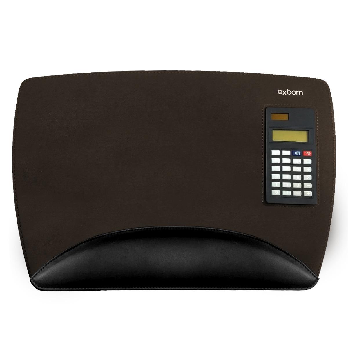 9acbb9ac7 mouse pad com calculadora solar e apoio para punho - exbom. Carregando zoom.