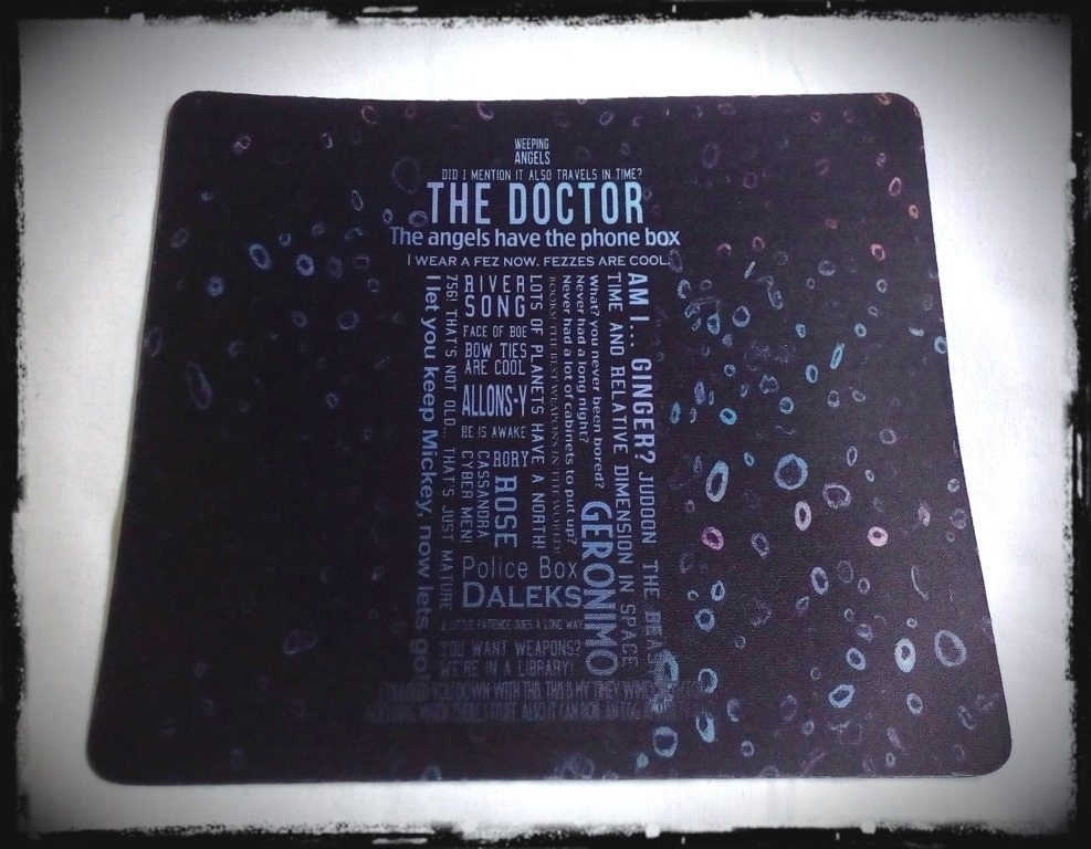 Mouse Pad Doctor Who