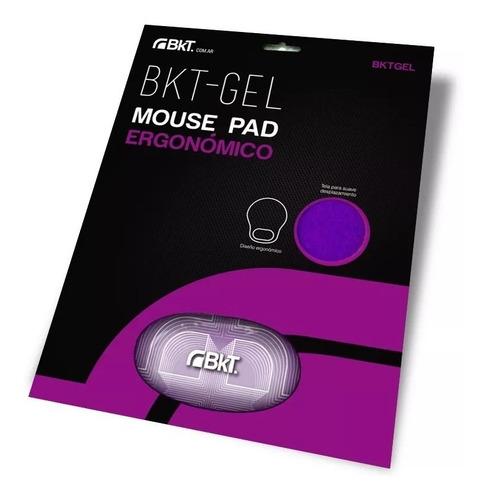 mouse pad ergonómico apoya muñeca gel negro slot one