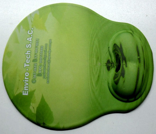mouse pad ergonomico con gel, ver x mayor