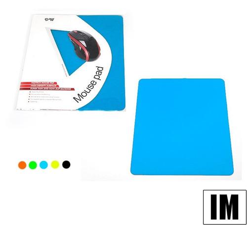 mouse pad ergonomico diseño redondo cuadrado varios colores