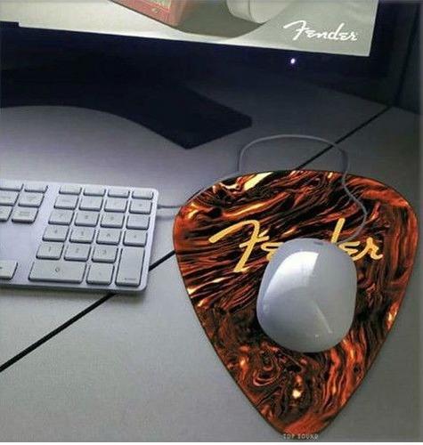 mouse pad fender en forma de púa  9190560105