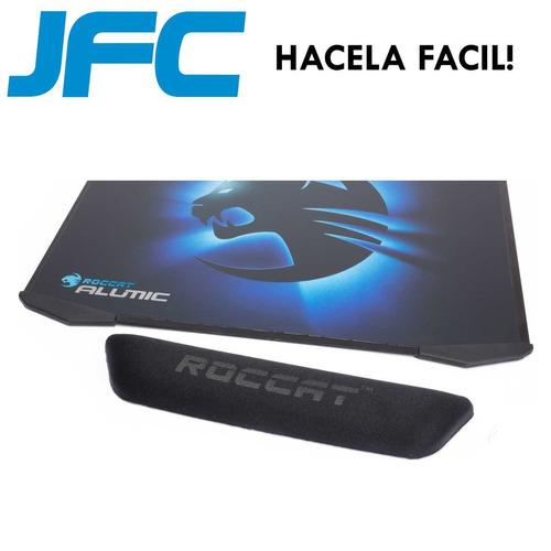 mouse pad gamer roccat alumic reversible apoya muñeca jfc