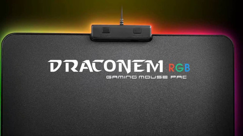 mouse pad gamer thermaltake draconem rgb notebook envios