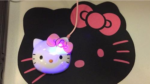 mouse pad hello kitty accesorios importado usb