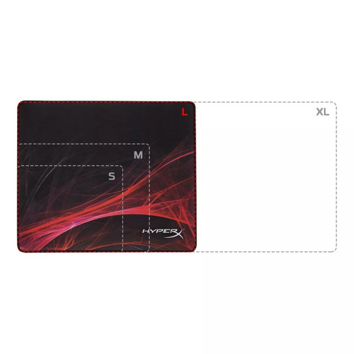 mouse pad kingston hyperx fury pro gamer l speed edition