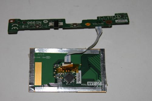 mouse pad lan tech m21 ms171a3 laptop msi ms-171a (ms-6837d)