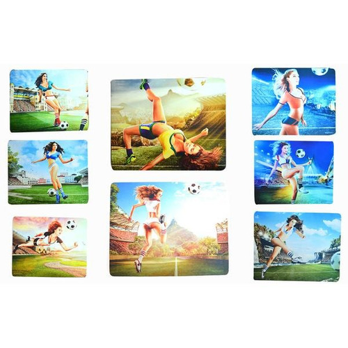 mouse pad ped gamer grande 260x210x3mm