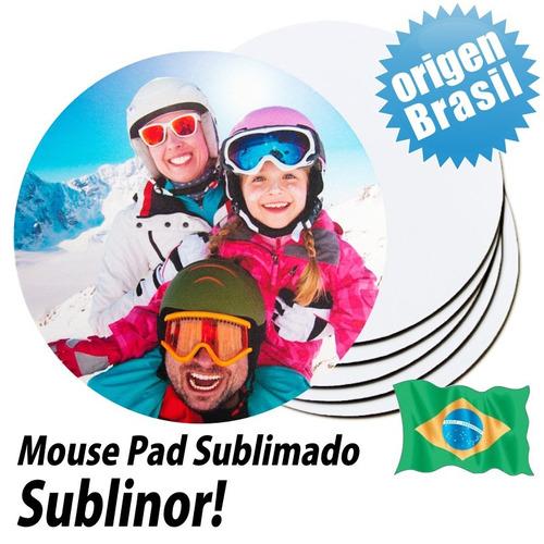 mouse pad personalizado redondo de 19 cm publicitarios