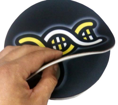 mouse pad personalizado redondo de 19 cm publicitarios slim
