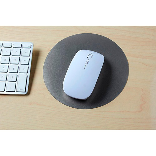 mouse pad silver promocional