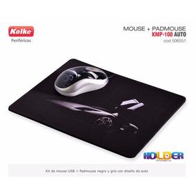 Mouse Kolke Kmp-100 Autos Usb + Pad Mouse