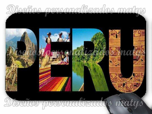 mouse pads personalizados imágenes peruanas