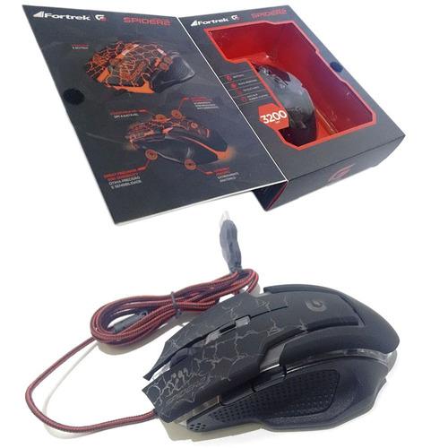 mouse para jogar no computador estiloso barato com fio led