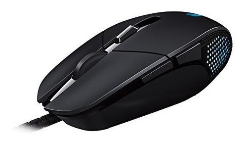 mouse para videojuegos logitech g302 daedalus prime moba