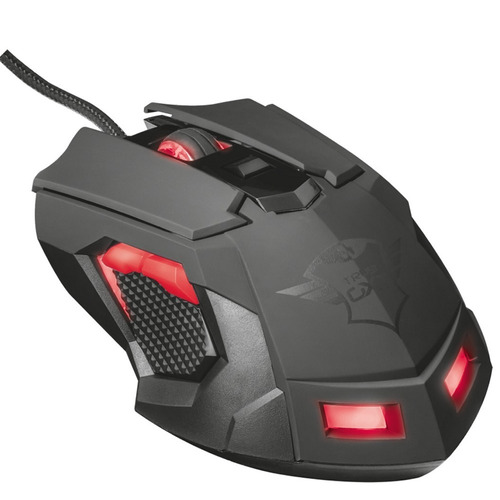 Mouse Pc Gamer Trust ORNA Gxt 148 Gaming 8 Botones 3200 Dpi