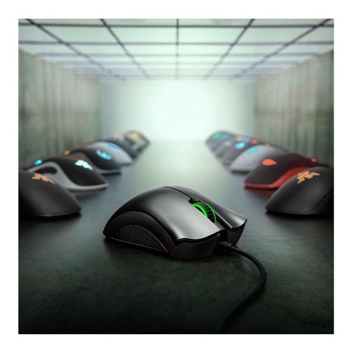 mouse razer deathadder essential sensor 6,400dpi 5botones pc