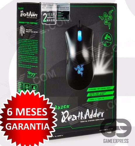 mouse razer deathadder original azul