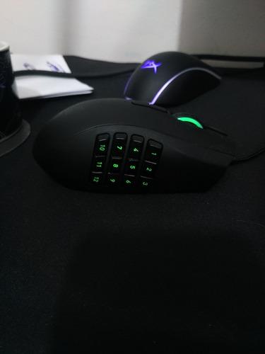 mouse razer naga canhoto  left hand raridade