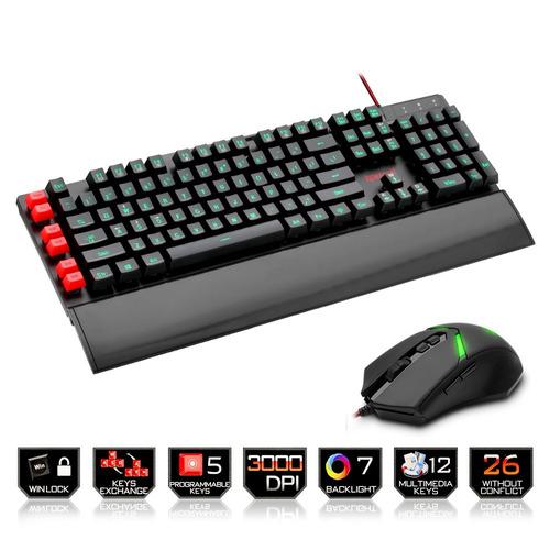 mouse redragon kit teclado