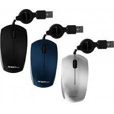 mouse retractil argom arg-ms-0007b