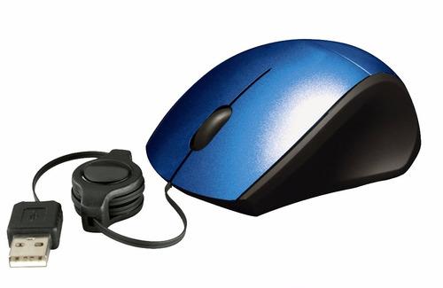 mouse retractil ergonomico de 1000 dpi
