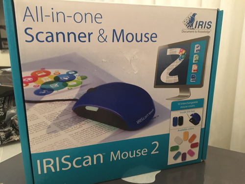 mouse scanner iriscan - 2