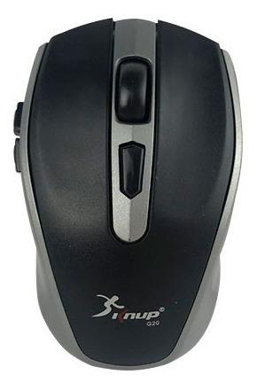 mouse sem fio 6 botões óptico ergonomico wireless kp-g20