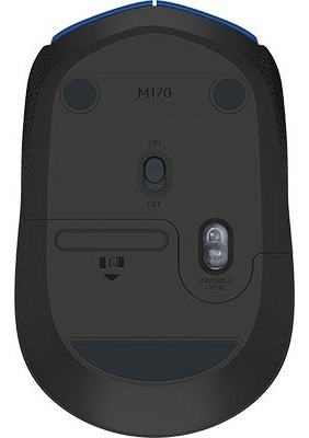 mouse sem fio azul m170 logitech cx 1 un