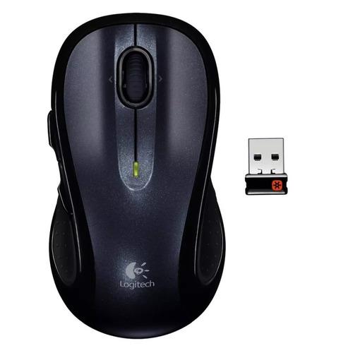 mouse sem fio logitech m510 preto receptor nano full