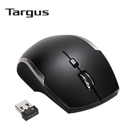 mouse targus blue trace 6 botones wireless black