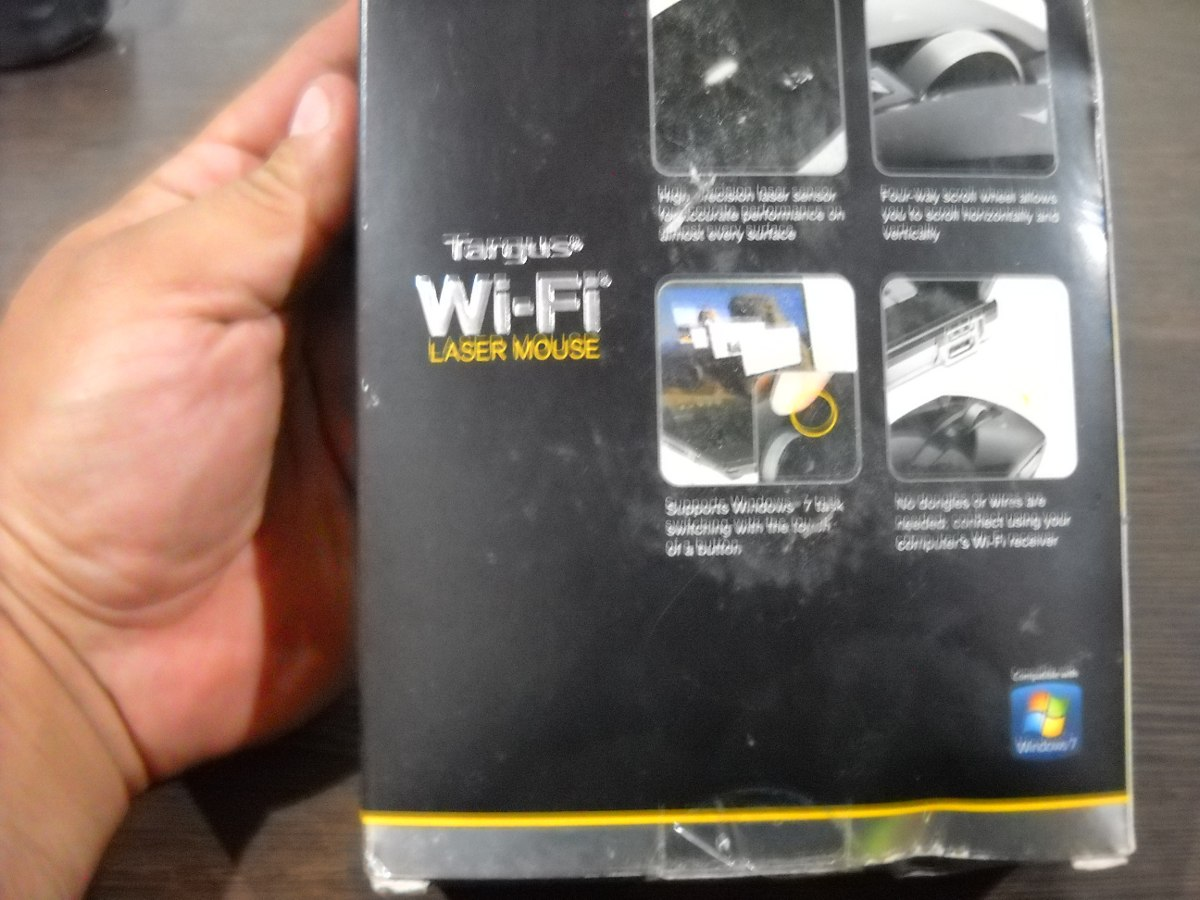 TARGUS WIFI MOUSE WINDOWS XP DRIVER