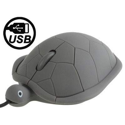 mouse teclado cable turtle style usb 3d optical grey gris