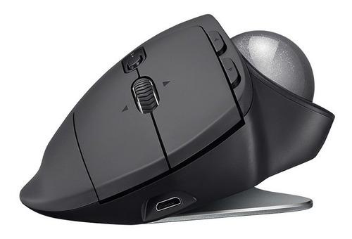 mouse trackball inalámbrico logitech mx ergo, 440 dpi, 8 bot