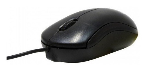 mouse usb alambrico para pc optico negro techzone 800 dpi