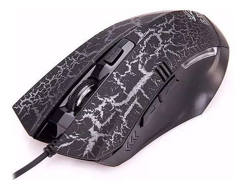 mouse usb c/ 1,2 m de fio gamer 7 botões3200 dpi led mac t78